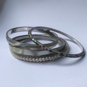 Jewelry - Lot of 5 Bangles Costume Jewelry Bracelets
